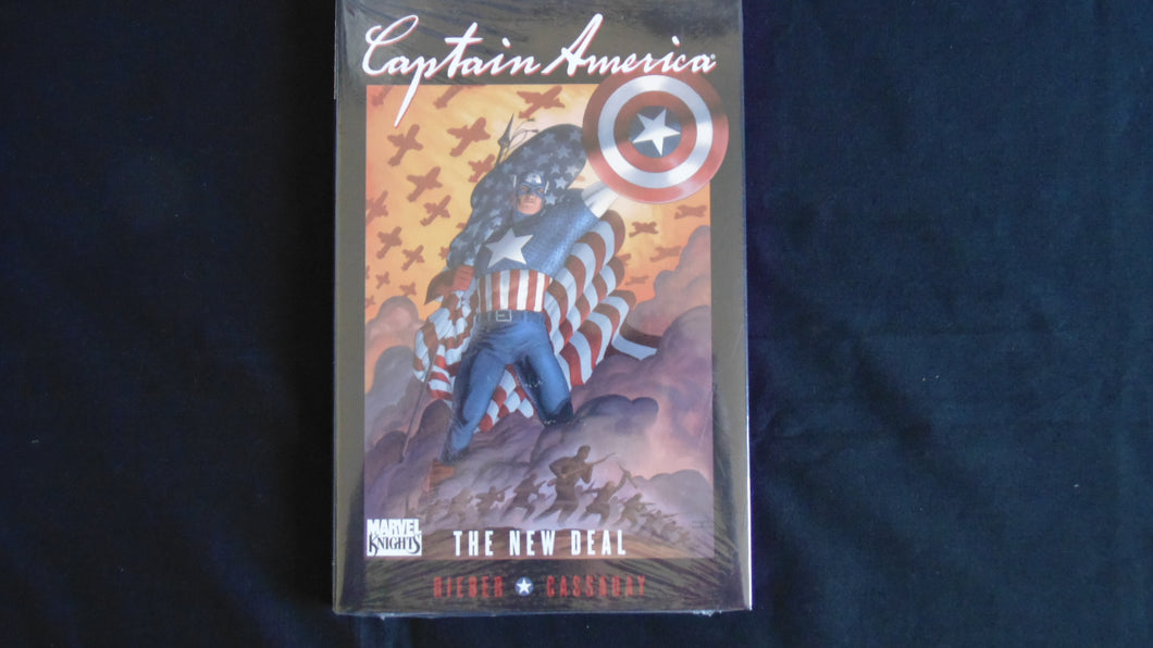 Captain America the New Deal  Hardcover Graphic  (b19) Marvel