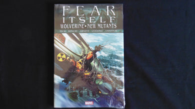Fear Itself Wolverine New Mutants   Hardcover Graphic Brand New (b19) Marvel