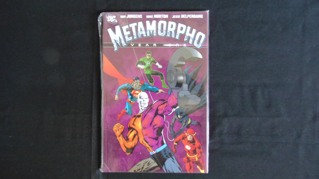 Metamorpho Year one Softcover Graphic Novel (b18) DC