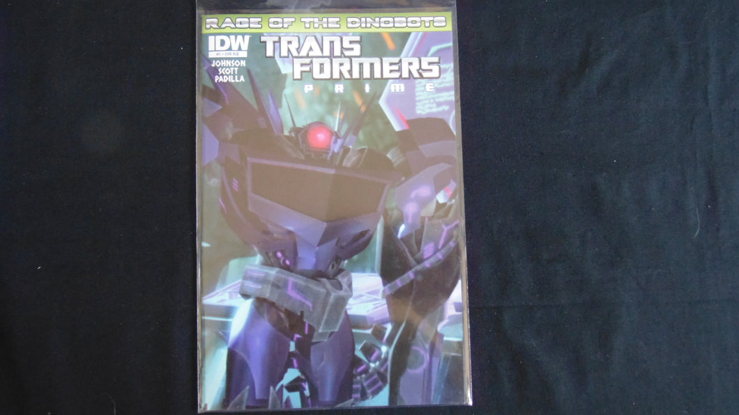Transformers Rage of the Dinobots Prime 1 Variant (b6) near mint