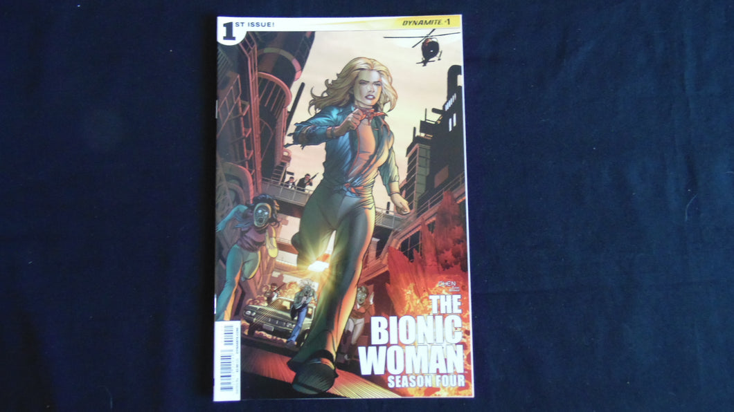 The Bionic Woman Season four 1 (b6) near mint