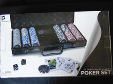 DC Super villains Poker set