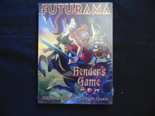 Futurama Benders Game   DVD still sealed NTSC