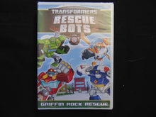 Transformers rescue bots griffin rock rescue   DVD still sealed NTSC