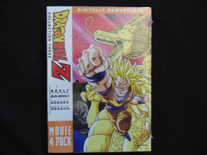 Dragonball Z movie 4 pack collection 3  DVD still sealed NTSC