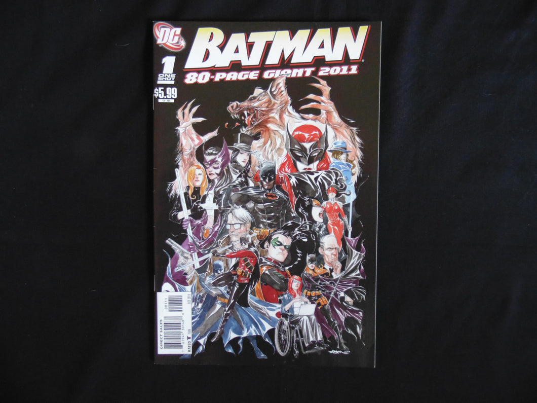 Batman 80 Page Giant 2011  (b4) Near mint DC