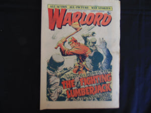Warlord 45 August 2 1975 (b1) UK comic VG grade