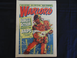 Warlord 41 July 5 1975 (b1) UK comic VG grade