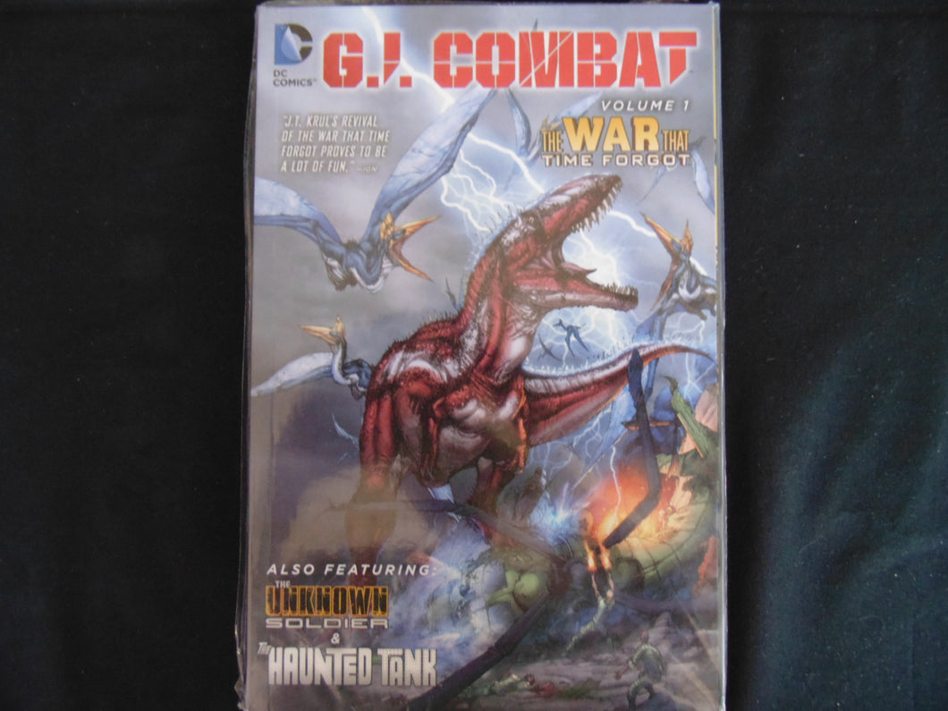 GI Combat The War that time Forgot Softcover graphic Novel (b28) DC