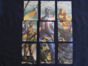 Marvel 70th Anniversary - Tribute Cards Set of 9 Chase Cards T1-9