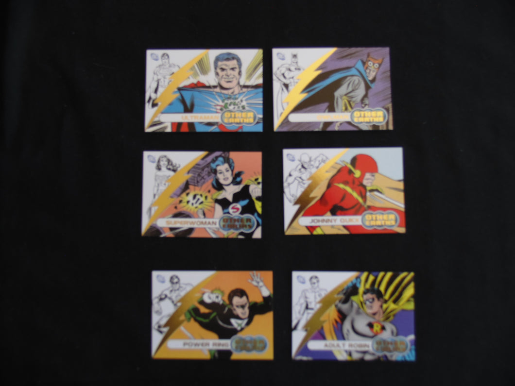 2009 Justice League Archives Other Earths Inserts OE1-OE6 trading card