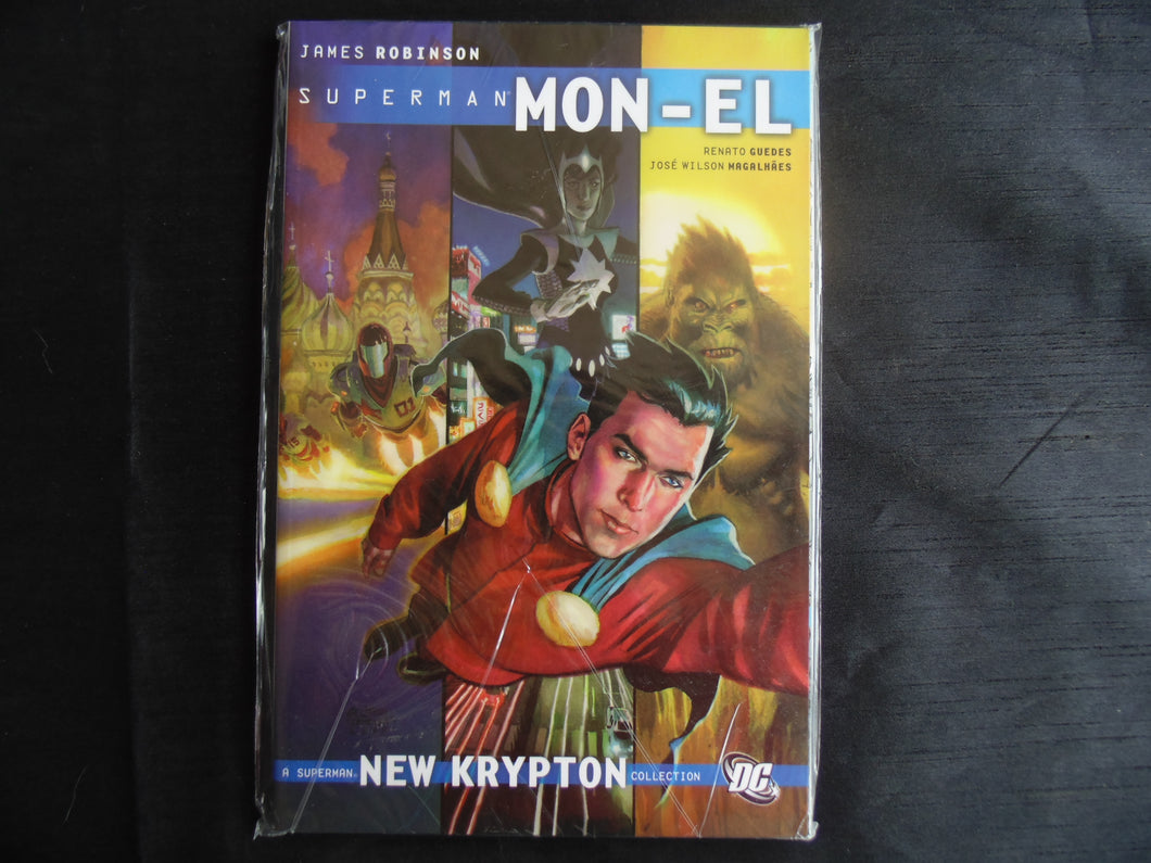 Superman Mon-el New krypton man of valor Softcover Graphic Novel  (b31)