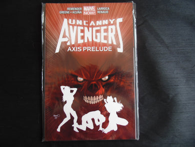Uncanny Avengers Axis Prelude Softcover Graphic Novel  (b31)