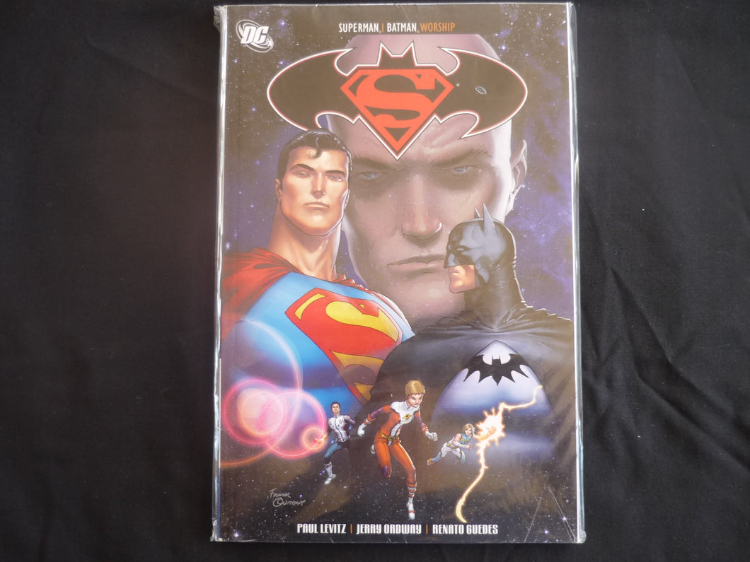 Superman and Batman Worship graphic Novel  DC Brand New (b11)