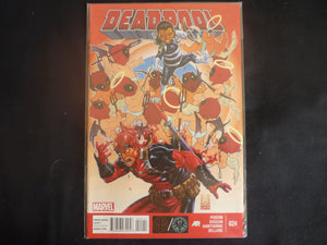 Deadpool #24 4th Series (b21) Marvel 2013