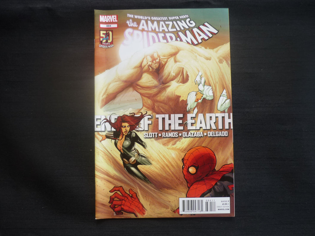 Amazing Spider-man 684 (b28) Marvel 2012 NM