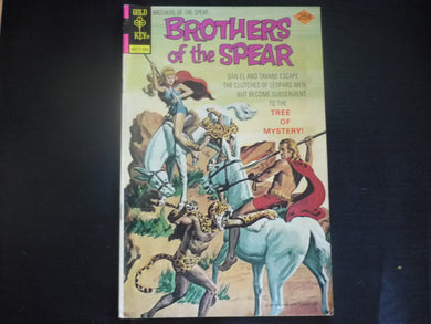 Brothers of the Spear 13  (b2) Gold key Good 1975