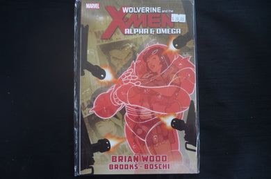 Wolverine and The X-men Alpha And Omega Soft Cover Graphic Novel (b5) Marvel