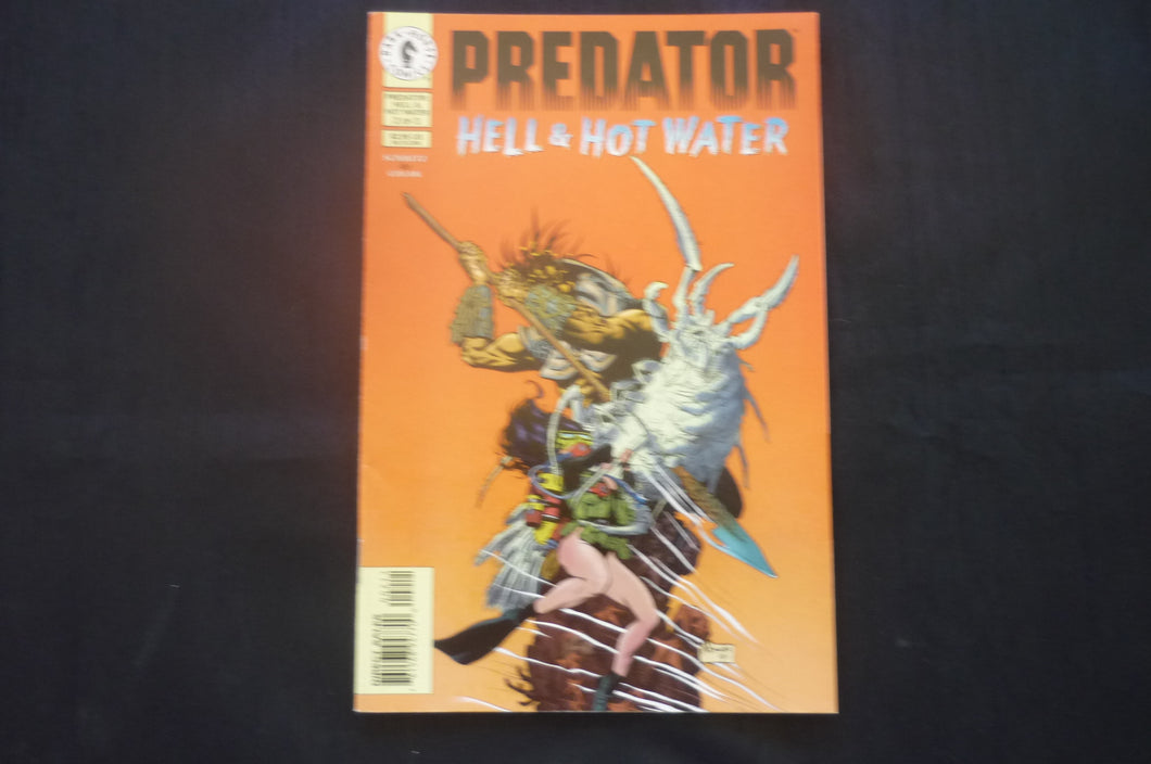 Predator  Hell and Hot Water 2  (b8) 1997 NM condition
