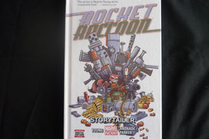 Rocket Racoon Story Tailer Hardcover Graphic Novel  (b9) Marvel