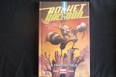 Rocket Racoon A chasing Tale Hardcover Graphic Novel  (b9) Marvel