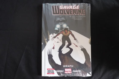 Savage Wolverine Wrath Graphic Novel Hard Cover (b9) Marvel