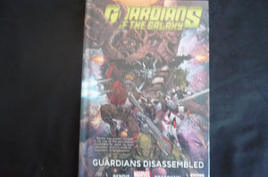 Guardians Of The Galaxy Volume 3 Guardians Disassembled Hardcover Graphic Novel (b9)