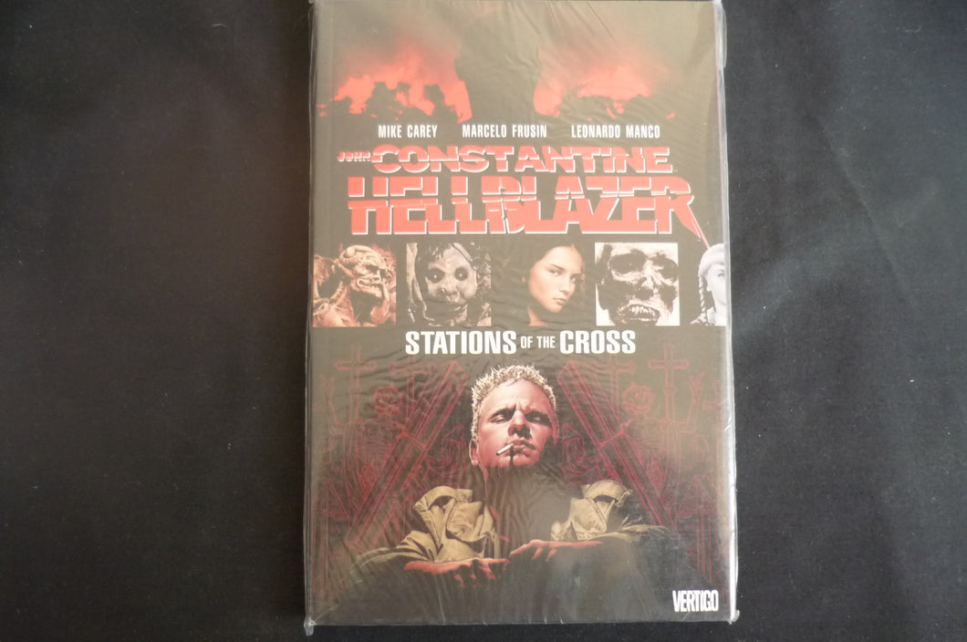 John Constantine Hellblazer Stations of the Cross Softcover Graphic Novel  (b11)