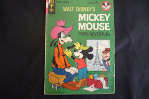 Walt Disney Mickey Mouse  89 (b11) good condition  Gold Key 1963