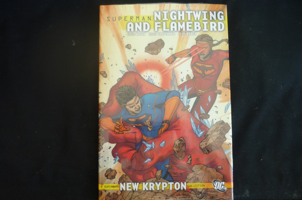 Superman Nightwing and Flamebird New krypton vol 2 Hardcover graphic Novel  DC (b11)