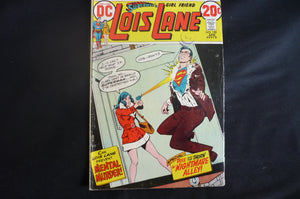 Superman's Girlfriend Lois Lane 130 1973  DC Good Condition (b11)