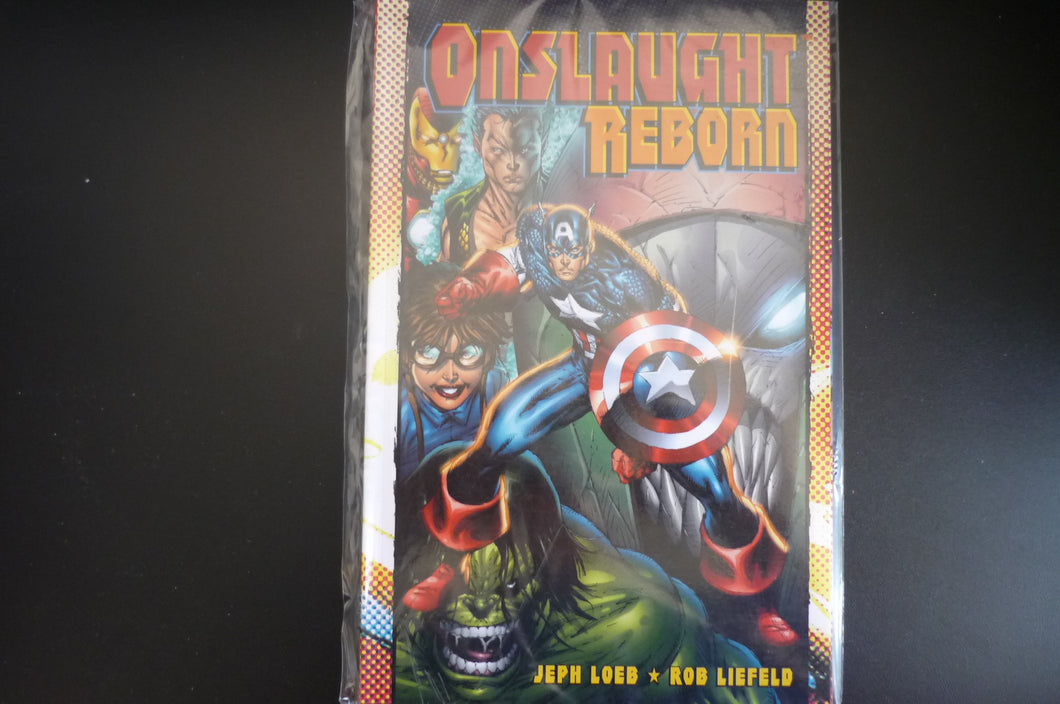Onslaught Reborn Softcover Graphic Novel  (b12)  Marvel Jeph Loeb Rob Liefeld