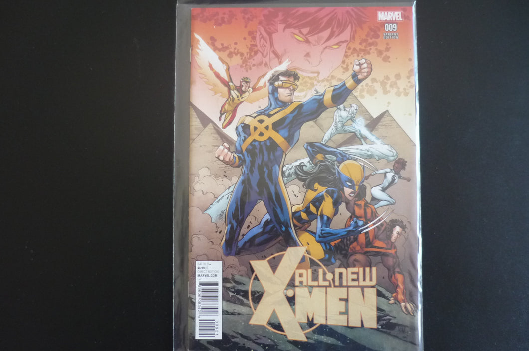 All New X-men 9 Connecting Variant    (b13) MArvel 2016