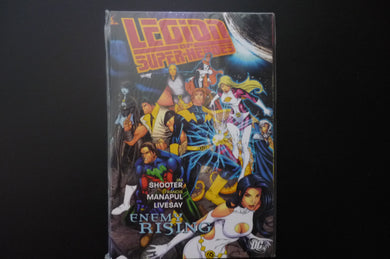Legion of Super Heroes Enemy Rising by Jim Shooter (Paperback, 2009) (b8)
