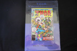 Thor If Asgard Should Perish hardcover Graphic novel (b13) Marvel Premiere Classic 54