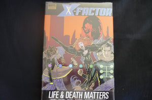 X-factor Life & Death Matters Hardcover Graphic Novel  (b8) MArvel Premiere