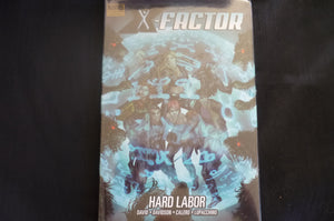 X-factor HArd Labor Hardcover Graphic Novel  (b8) MArvel Premiere