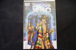 Doctor Who Prisoners of Time 4 RIA cover   (b13) NM IDW