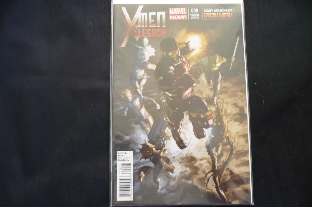 X-men Legacy 9 variant   (b13) NM Marvel