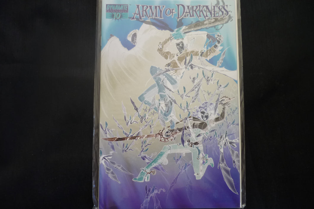 Army of darkness 10 Negative Cover (B13) Dynamite Near mint