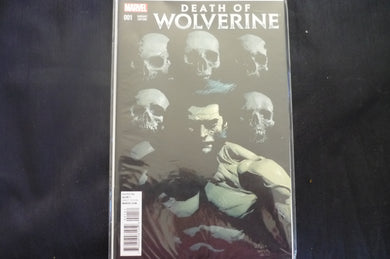 Death of Wolverine 1 YU variant  (b20) 2014 Near mint