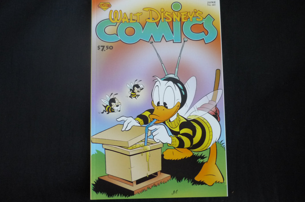 Walt Disney's Comics and Stories 681 Donald Duck  (b5) Near Mint Prestige format