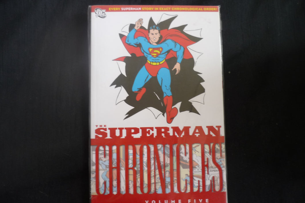 Superman Chronicles 5  Softcover Graphic Novel (b17)