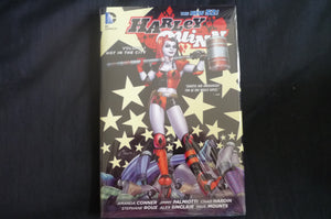 Harley Quinn Hot in the City  hardcover Graphic Novel (b12) DC
