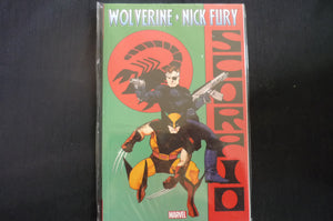 Wolverine Nick Fury Scorpio  Softcover Graphic Novel (b17) Marvel