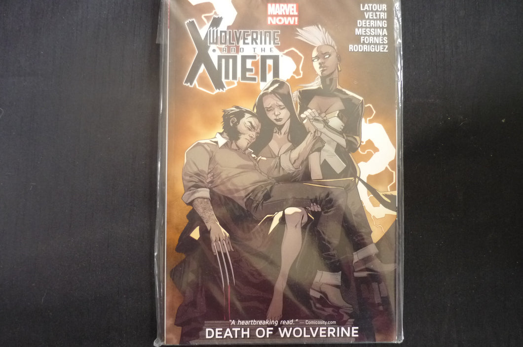 Wolverine & the X-men Death of Wolverine 2 Softcover Graphic Novel (b17) Marvel