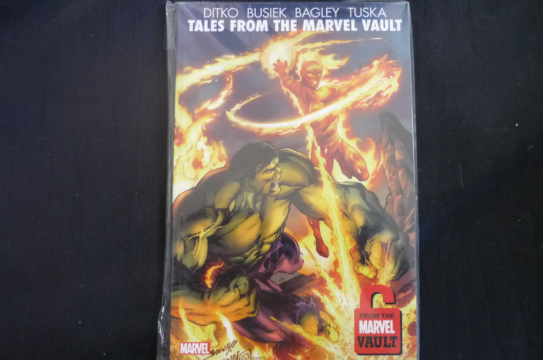 Tales From the MArvel Vault  Softcover Graphic Novel (b20) Ditko Busiek Bagley