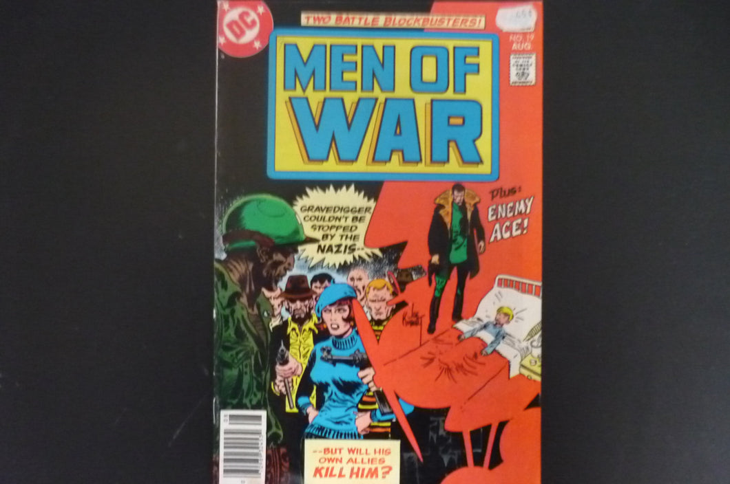 Men of War 19  (b12) DC Good +condition 1977-1980