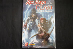 Red Sonja Claw  softcover graphic novel (b4) Dynamite