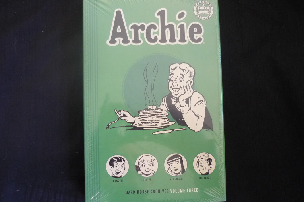 Dark Horse Archive Archie volume 3 Hardcover Graphic Novel ( B31)